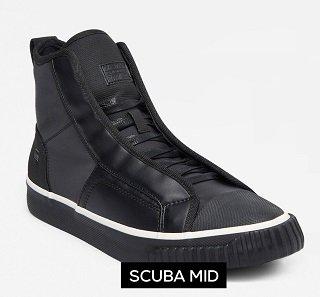 G-Star Raw Sneakers für Sie und Ihn mit bis zu -51% Rabatt, z.B. Scuba Mid 53€