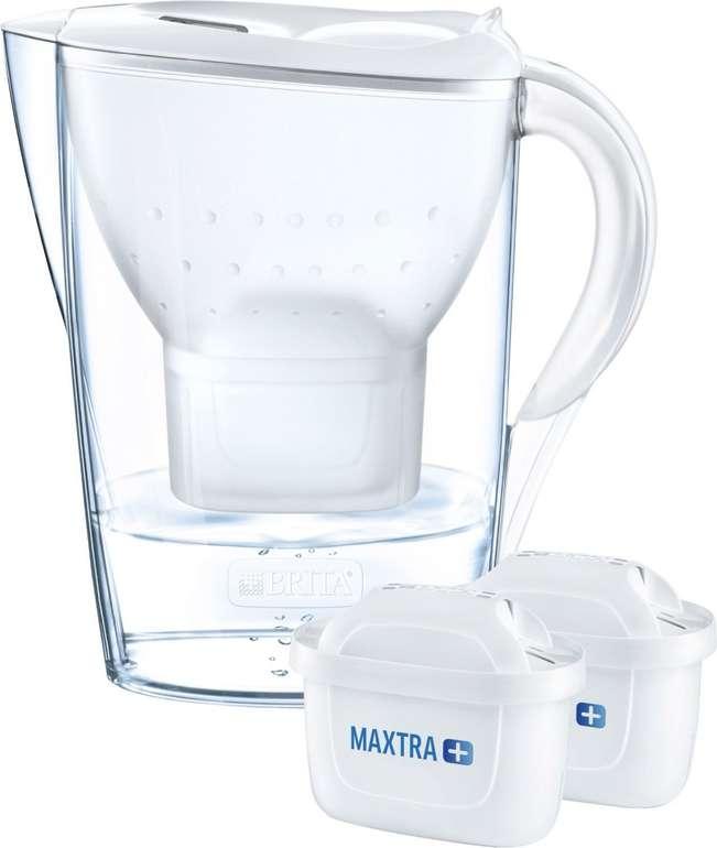 Brita Wasserfilter Marella inkl. 2 Maxtra+ in Weiß für 17,94€ inkl. Versand (statt 23€)