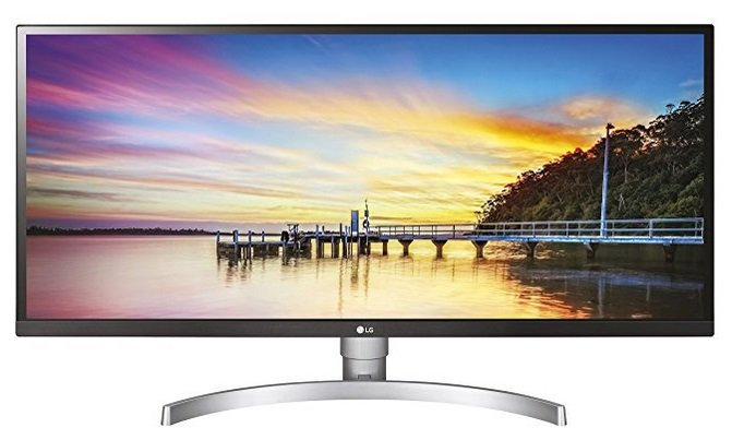 "LG 34WK650-W - 34"" UWFHD IPS Monitor (2560x1080, 21:9, 300cd/m², 5ms) für 309€"