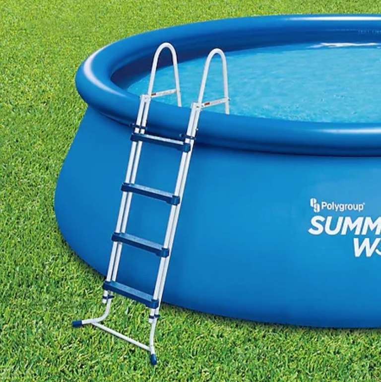 Summer Waves Pool Sicherheitsleiter (132 cm) für 64,99€ inkl. Versand (statt 79€)