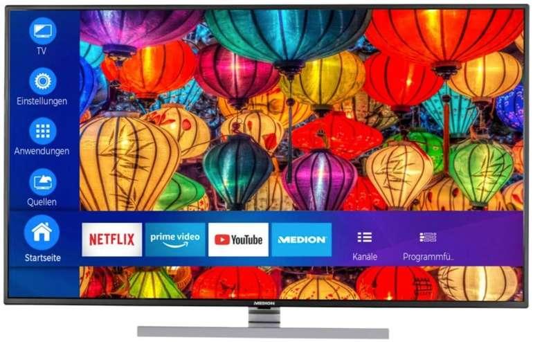 Medion S14901 - 49 Zoll 4K UHD Smart LED TV mit HDR und Dolby Vision (EEK: A+) für 313,49€ (statt 439€)