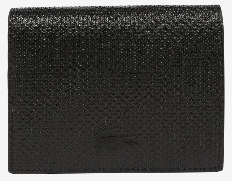 """Lacoste """"NF3351CE"""" Geldbörse in schwarz für 47,45€ inkl. Versand (statt 87€)"""