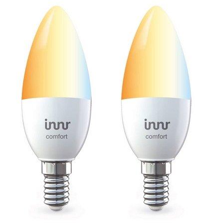 Doppelpack Innr ZigBee E14 tunable white Lampen für 26,98€ (statt 37€)