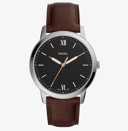 Großer Fossil Sale bis -71% - z.B. THE MINIMALIST - Uhr - braun für 60,90€
