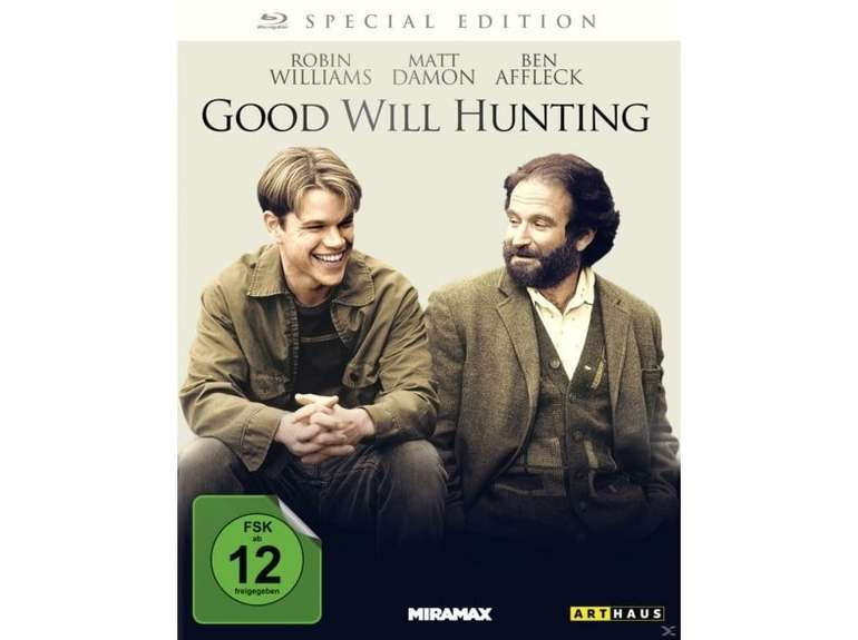 Good Will Hunting (Special Edition, Blu-ray) für 3,99€ (Filiallieferung)