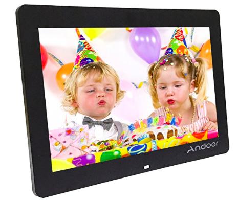 "Andoer - digitaler 14"" HD Wide Screen LED-Bilderrahmen für 49,19€ inkl. Versand"