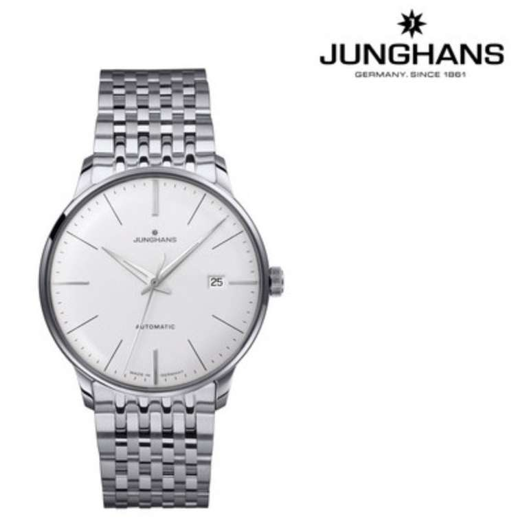 "Junghans Herren Automatik-Armbanduhr ""Meister Classic 027/4311.44"" (J820.2 Uhrwerk) für 785,90€"