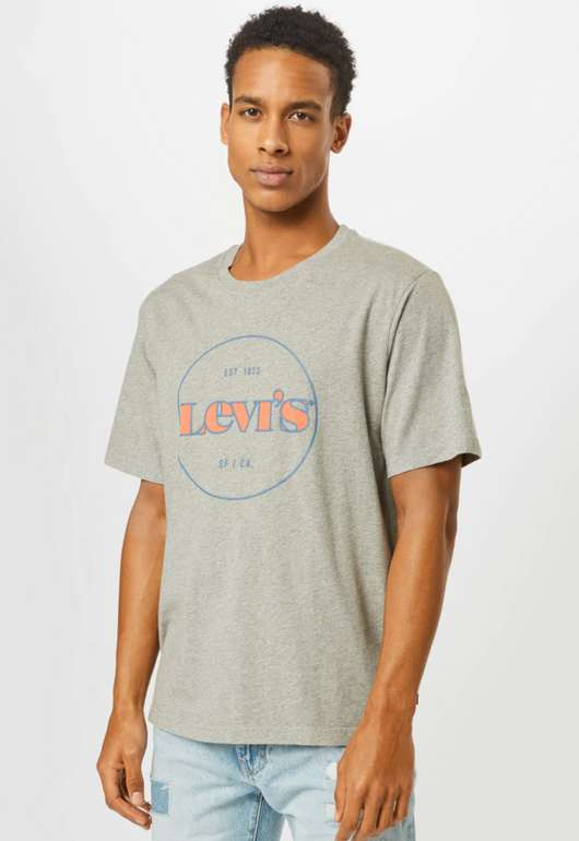 Levi's Herren T-Shirt in Grau für 13,41€inkl. Versand (statt 20€)