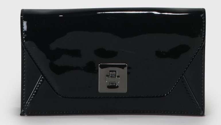 Buffalo Kleopatra Clutch Handtasche in schwarz für 20,93€ inkl. Versand (statt 45€)