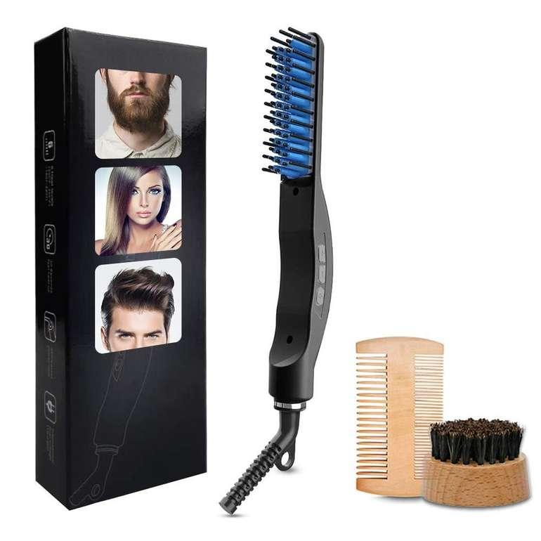 AidSci elektrischer Bartglätter mit Turmalin-Keramik Beschichtung für 16,79€ inkl. Prime Versand (statt 21€)