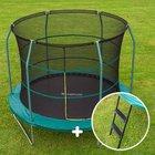 Techsports Trampolin mit 305cm Durchmesser & Leiter für 133,99€ (statt 180€)