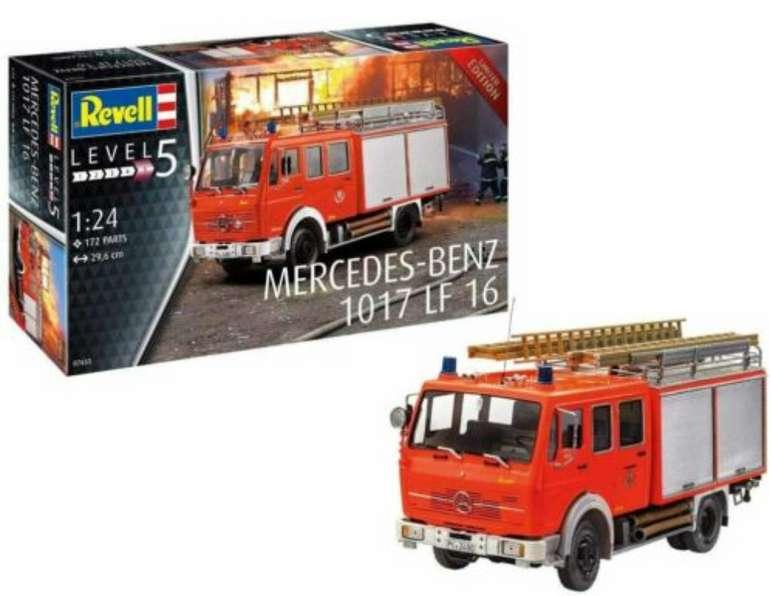 Revell 07655 Mercedes Feuerwehrauto Modellbausatz Limited Edition für 39,99€ inkl. Versand (statt 50€)