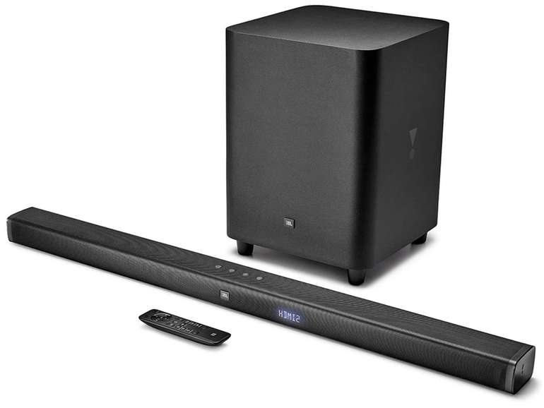 JBL Bar 3.1 - Ultra HD 4K Soundbar mit kabellosem Subwoofer (450 Watt, Dolby Digital, Bluetooth) für 282,40€