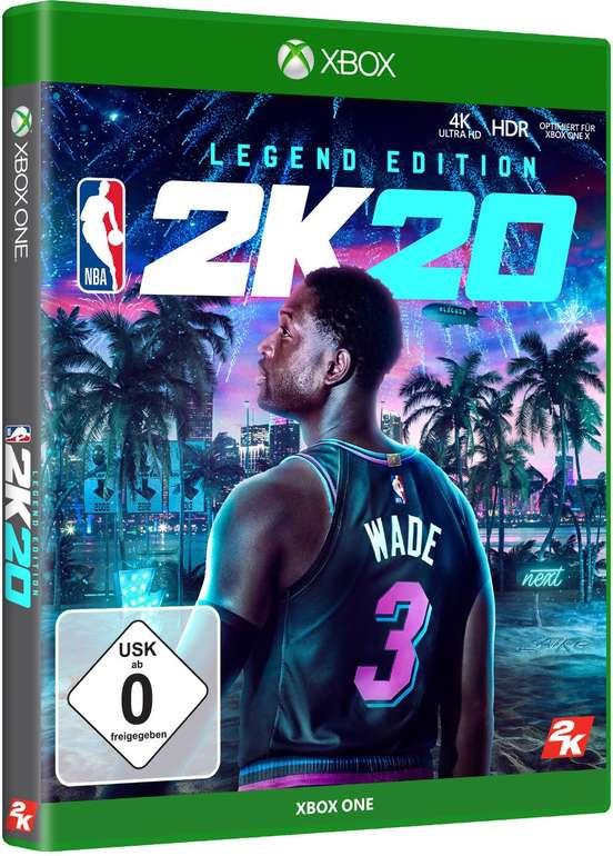 NBA 2K20 Legend Edition Xbox One für 29€ (statt 45€)