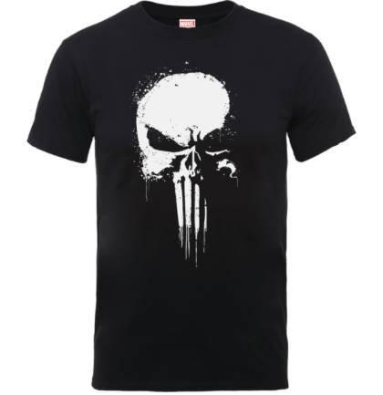 Marvel The Punisher Paintspray Herren T-Shirt für 10,99€ (statt 22€)