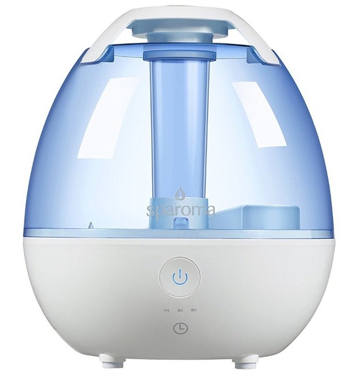 Sparoma 2 Liter Ultraschall-Raumbefeuchter für 14,99€ inkl. Versand (Prime)