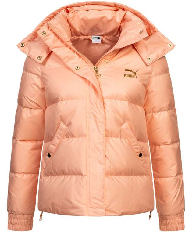 Puma Premium Damen Daunenjacke in Orange für 59,99€inkl. Versand (statt 91€)