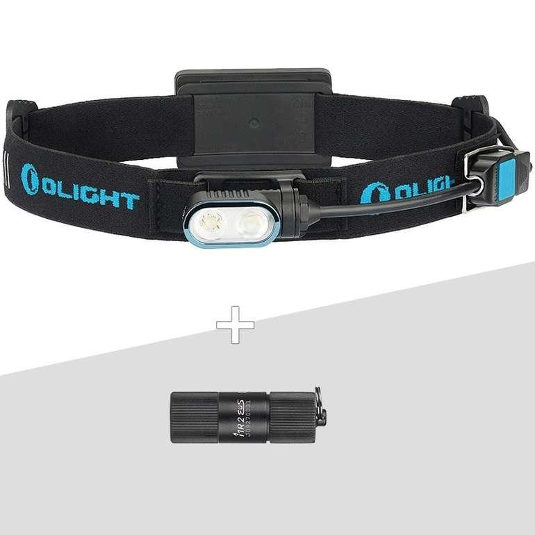 Olight Array Stirnlampe und I1R II Taschenlampe im Bundle für 53,34€ inkl. Versand