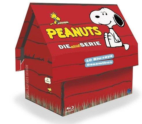 Peanuts - Die neue Serie - auf Blu-ray (1-10) in lustiger Hundehütte für 49€