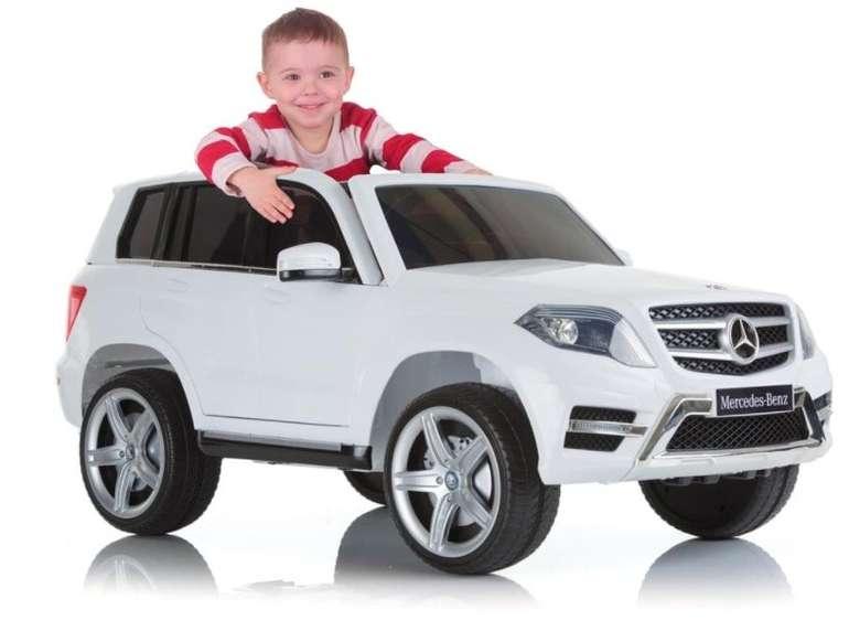 Hauck Mercedes GLK 350 Ride On Kinder-Elektroauto für 99€ inkl. Versand (statt 142€)