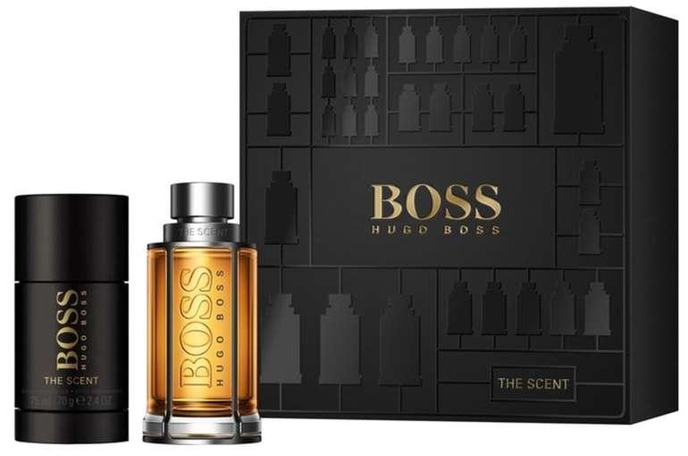Hugo Boss - The Scent Geschenkset: 50ml Eau de Toilette Spray + 75ml Deodorant Stick für 30,15€