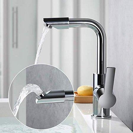 Homelody 360° Waschtischarmatur mit drehbarem Auslauf für 25,99€ inkl. VSK