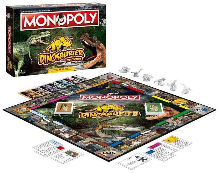 Monopoly Dinosaurier Dino Edition Gesellschaftsspiel für 37,99€ (statt 45€)