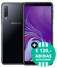 Samsung Galaxy A7 + Blau L mit 3GB LTE + 120€ Adidas <mark>Gutschein</mark> je 14,99€ mtl.