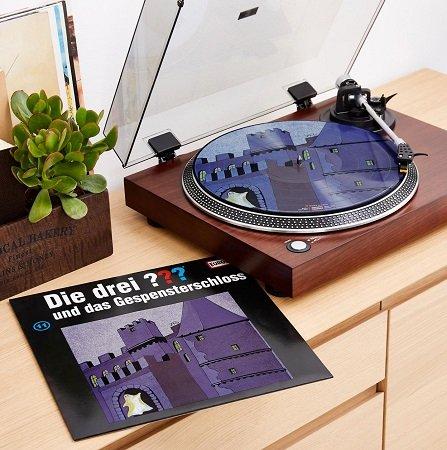 Die drei ??? und das Gespensterschloss auf Picture Vinyl LP für 13,95€