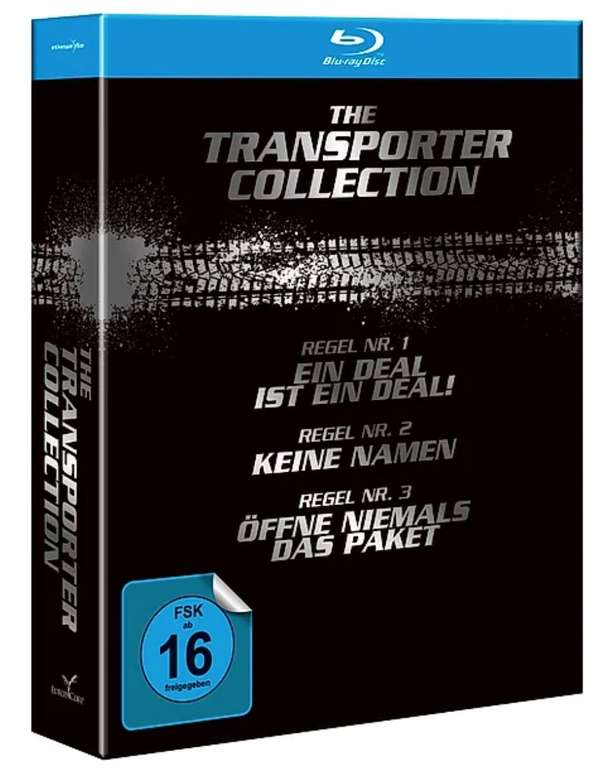 The Transporter Collection mit allen 4 Filmen (Blu-ray) für 10,99€ (statt 16€) - Newsletter Gutschein!