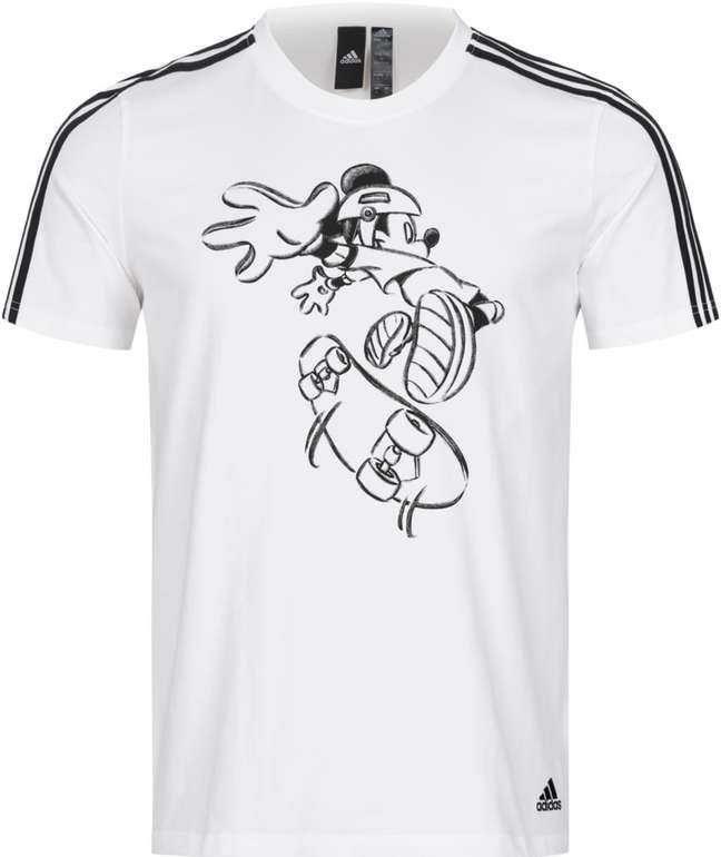 adidas x Disney Mickey Mouse Skate Herren T-Shirt für 17,94€inkl. Versand (statt 23€)