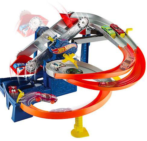 Spielzeug zum halben Preis bei myToys - z.B. Hot Wheels Fabrik Rennbahn 20,94€