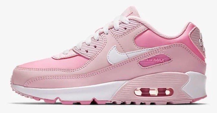 """Nike Air Max 90 Sneaker im """"Pink Foam""""-Colourway für 69,99€ inkl. Versand (statt 85€)"""