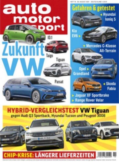 Auto Motor Sport im Halbjahres-Abo für 9,90€ (statt 63,70€)