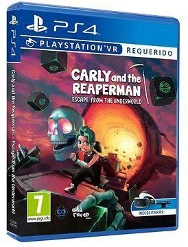 Carly And The Reaperman: Escape From The Underworld (PS4 / PSVR) für 13,90€ inkl. Versand (statt 24€)
