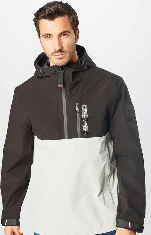 Tommy Hilfiger Herren Jacke in braun / weiß für 72,17€ inkl. Versand (statt 150€)