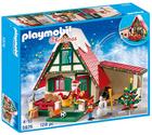 Playmobil Christmas - Zuhause beim Weihnachtsmann (5976) für 23,09€ (statt 40€)
