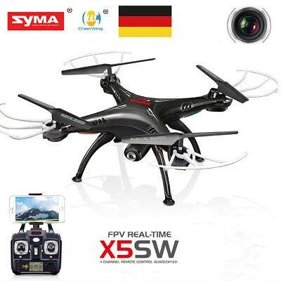 SYMA X5SW 2.4G 4CH 6-Achsen Gyro Drohne in Schwarz für 37,75€ inkl. VSK