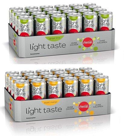 Schnell? 24 x Coca-Cola Light Taste für nur 16,81€ inkl. 6€ Pfand