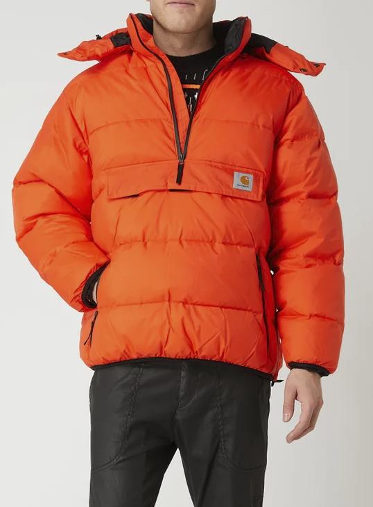 "Carhartt Work In Progress Herrenjacke ""Jones"" in Orange für 112,49€inkl. Versand (statt 200€)"