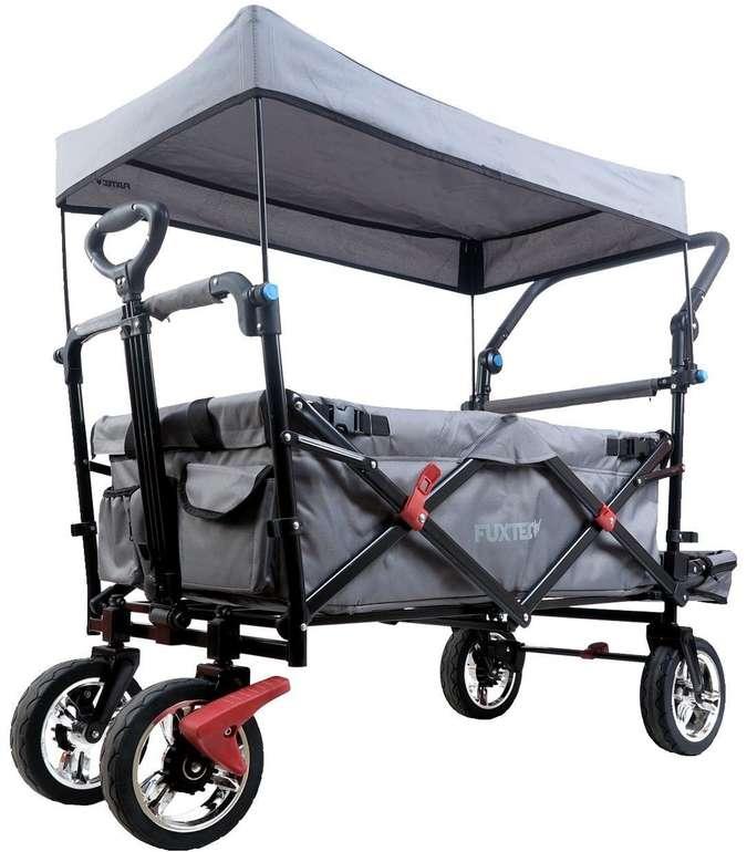 Fuxtec FX-CT800 Bollerwagen mit Sonnendach für 169,15€ inkl. Versand (statt 198€)