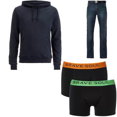 Zavvi: Hoodie + Boxershorts Nur 27,99€ + gratis Jeans