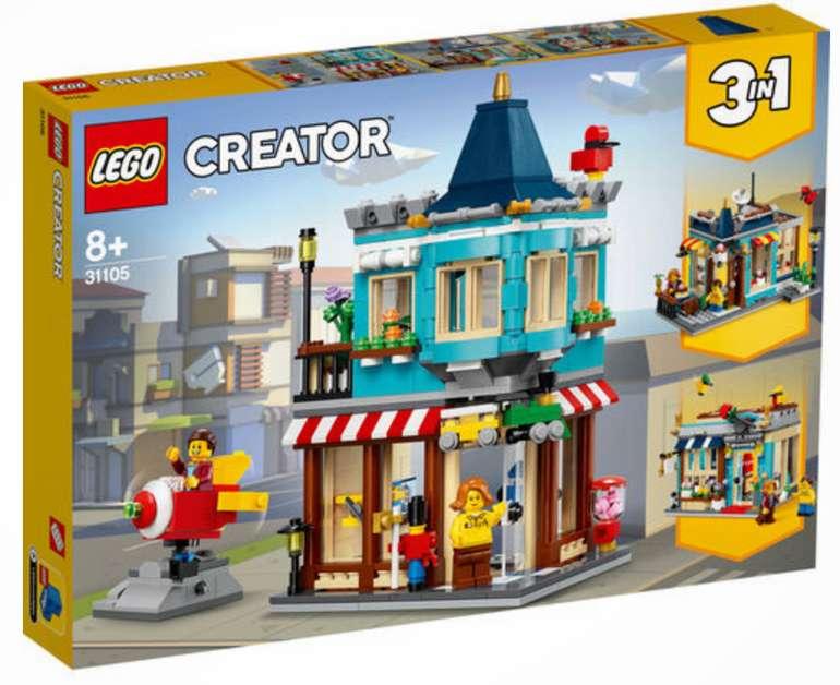 Lego Creator 3in1  Spielzeugladen im Stadthaus (31105) für 28,49€inkl. Versand (statt 37€) - Kundenkarte!