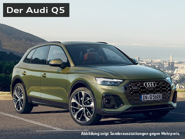 """Gewerbeleasing: Audi Q5 """"50 TFSI e"""" (299 PS) für 269€ Netto mtl. (LF: 0,59)"""