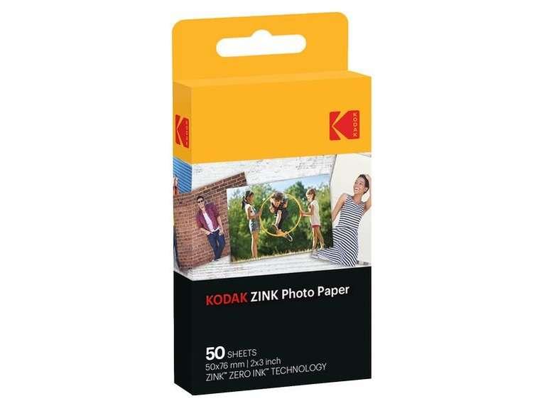 Kodak Zink Fotoapier 50er Pack für Sofortbilder für 19,94€ (statt 23€)