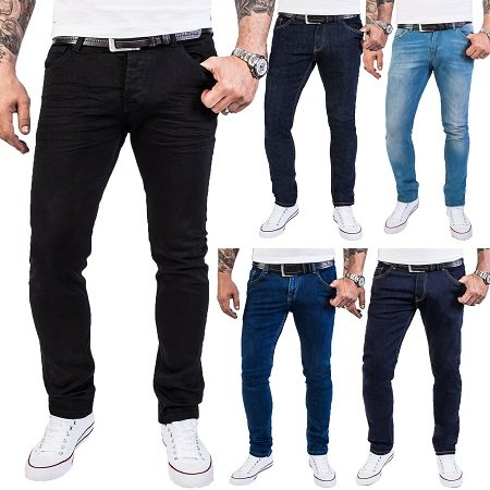 Rock Creek M46 Designer Herren Jeans für 27,90€ inkl. VSK