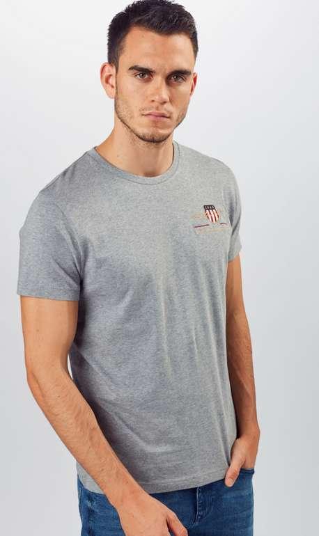 Gant T-Shirt in grau für 27,97€ inkl. Versand (statt 32€)