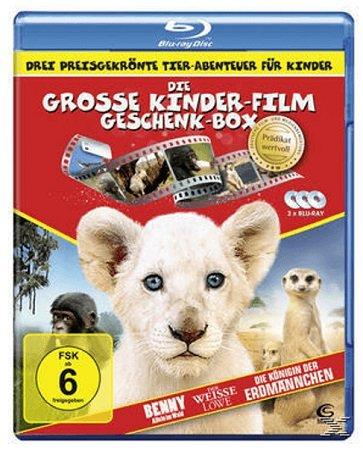 Die große Kinderfilm-Geschenk-Box mit drei preisgekrönten Tier-Abenteuern nur 5€