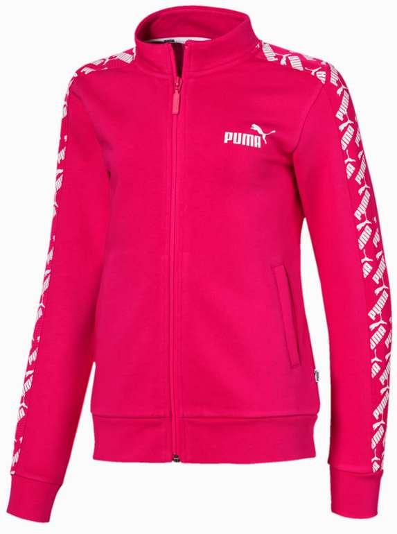 Puma Amplified Mädchen Trainingsjacke in Puma Black für 16,34€ inkl. Versand (statt 40€)
