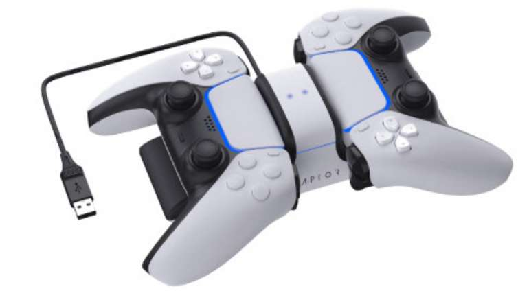 Raptor PS5 DualSense Duale-Ladestation CS200 für 18,98€inkl. Versand (statt 25€)